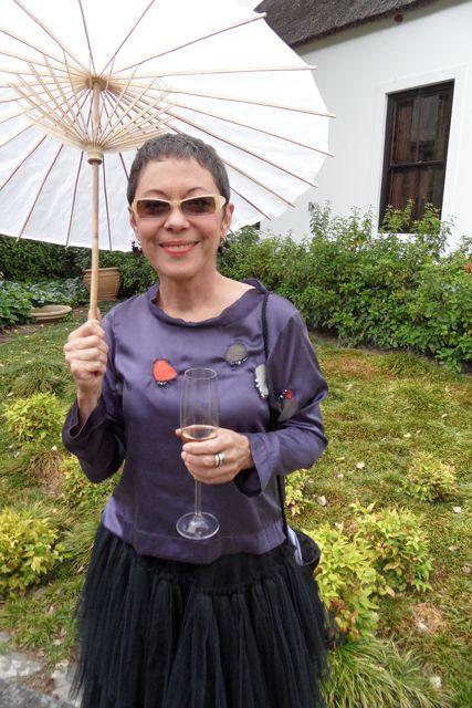 me + umbrella