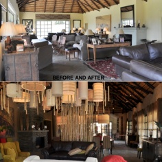 LODGE before and after